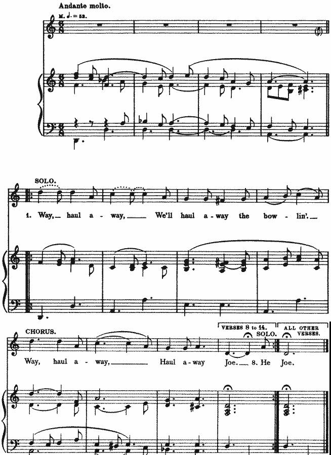 All Music Chords sheet music shenandoah : Shanty Songs, Shanty MIDI, Listen to Shanties